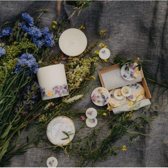 Bougies fleuries Munio Candela