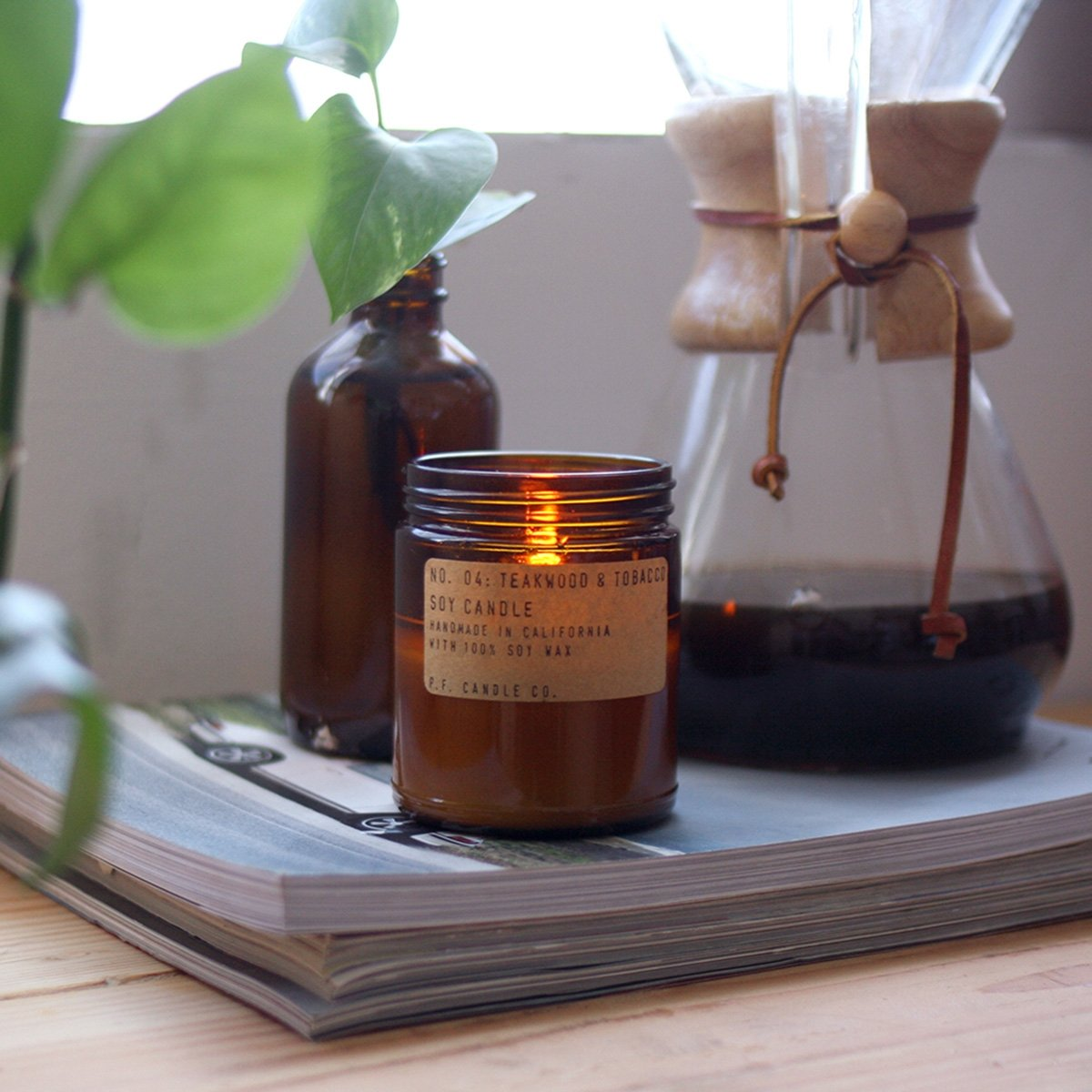 Bougie PF Candle Grand et Grosse