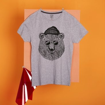 T-Shirt Bear and Sun