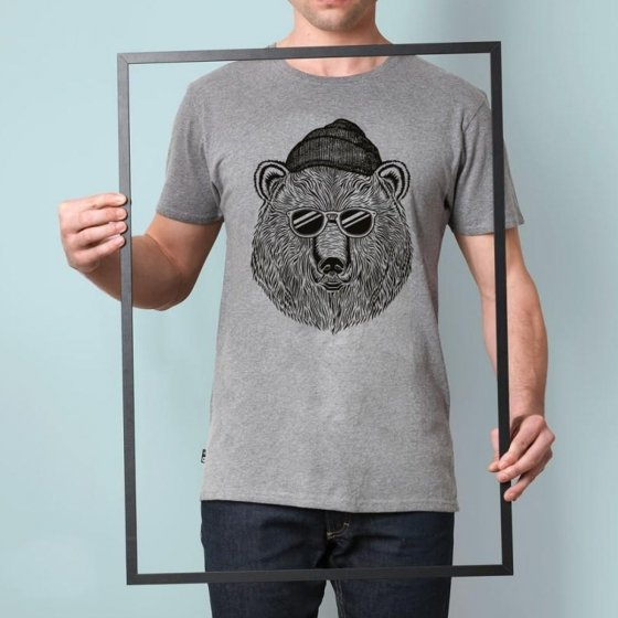 T-Shirt Bear and Sun