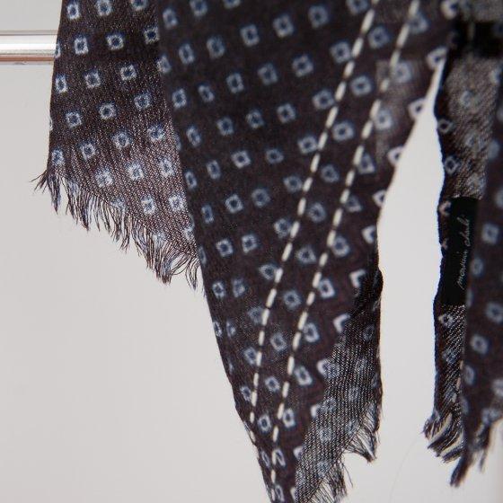 rechercher le meilleur réflexions sur livraison rapide Grande écharpe en voile de laine