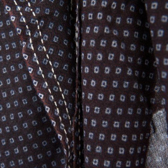 Grande écharpe en voile de laine