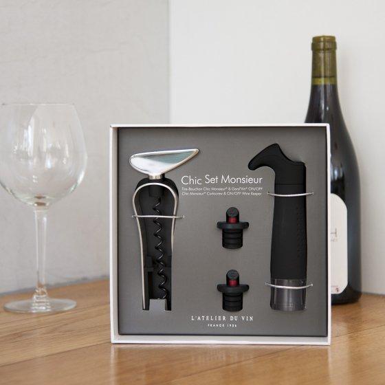 Coffret dégustation et conservation du vin