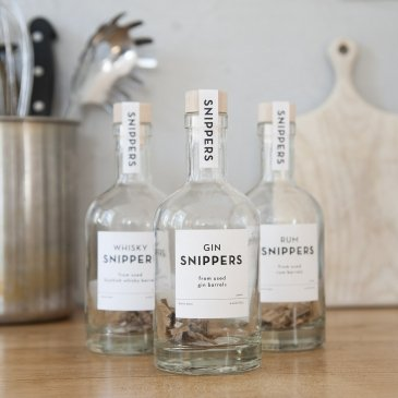 Bouteilles SNIPPERS avec copeaux pour alcool Spek Amsterdam