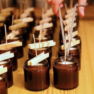 Atelier Fabrication de Bougie parfumée