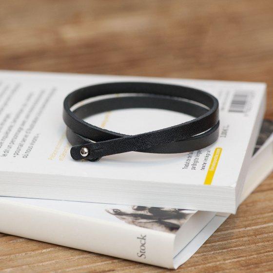 Bracelet double lanière Les Raffineurs