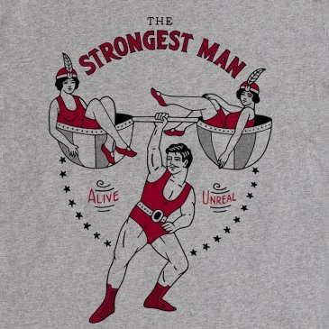 T-Shirt The Strongest Man