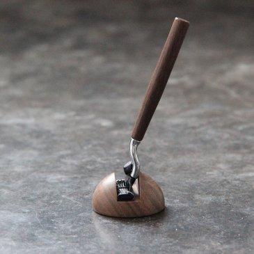 Kit de rasage en bois caliquo