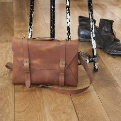 Sacoche en cuir Crafted London