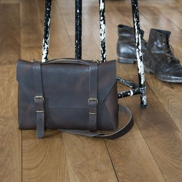 Sacoche en cuir Crafted Leather