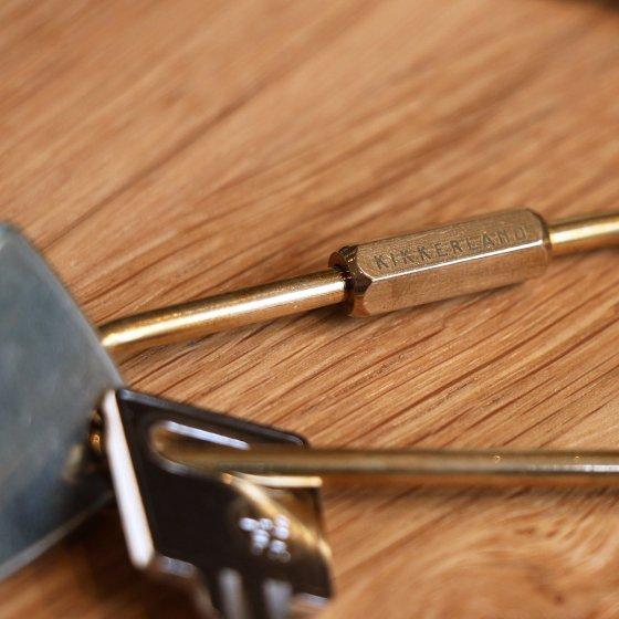 Porte-clé en laiton
