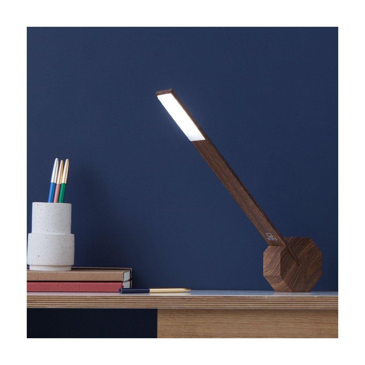Lampe de bureau octogone