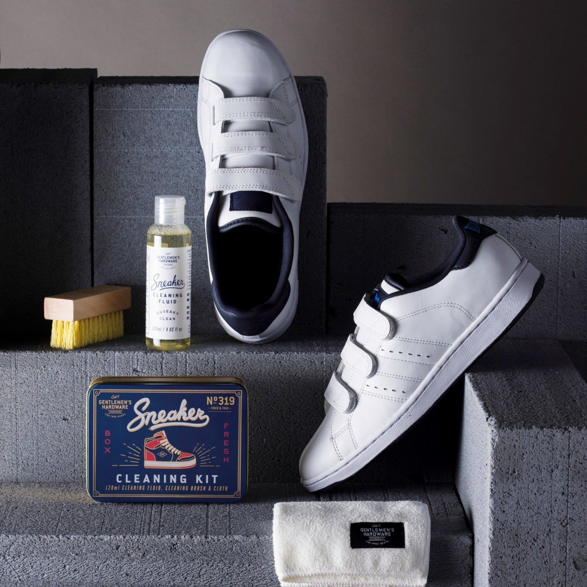 SNEAKER CLEANING KIT WILD AND WOLF
