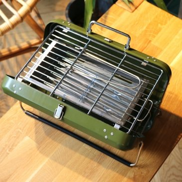 Barbecue valise portable