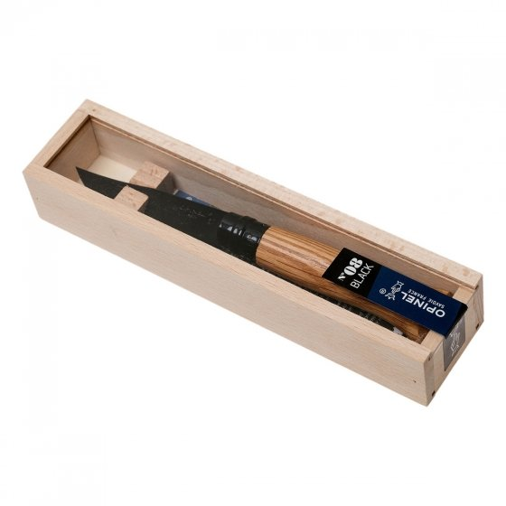 Couteau Opinel N°08 Chêne Black
