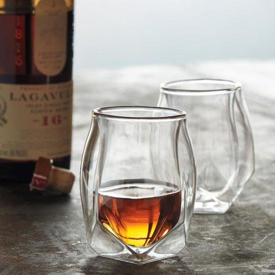 Coffret de deux verres à whisky