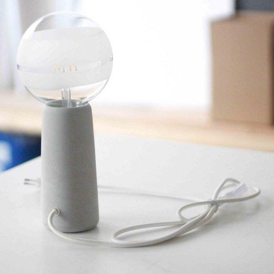 fabriquer sa lampe en b ton lyon les raffineurs. Black Bedroom Furniture Sets. Home Design Ideas