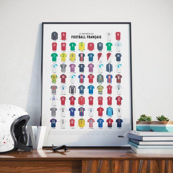 Affiche le Panthéon du Football Français