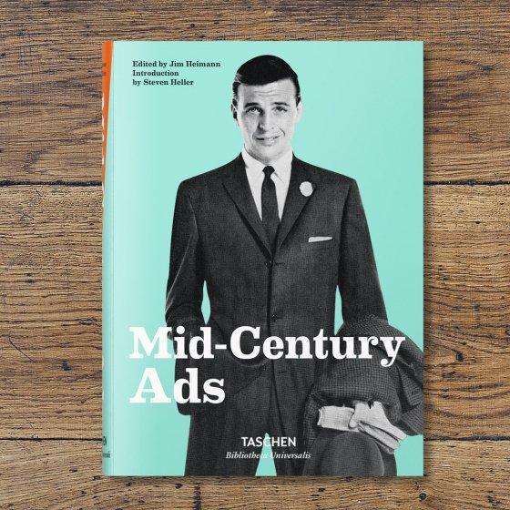 Livre mid-century Ads