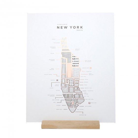 Affiches Cartes de villes