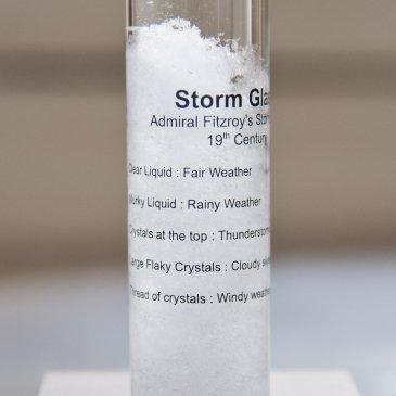 Baromètre à cristaux