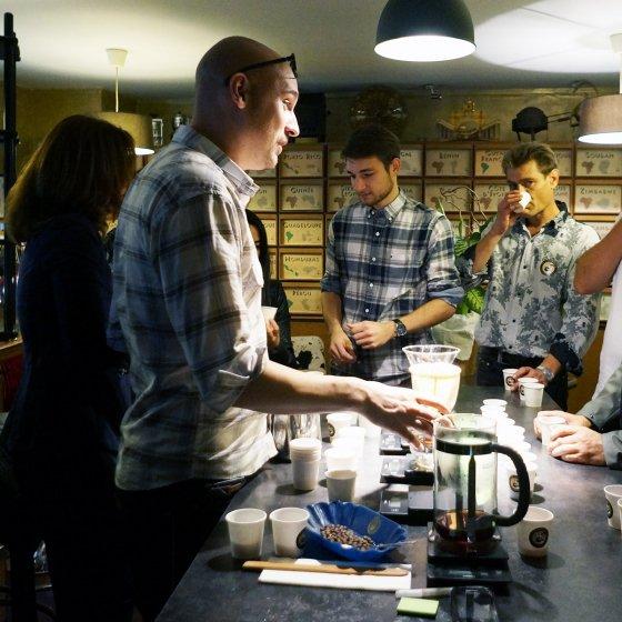 Atelier découverte et dégustation café