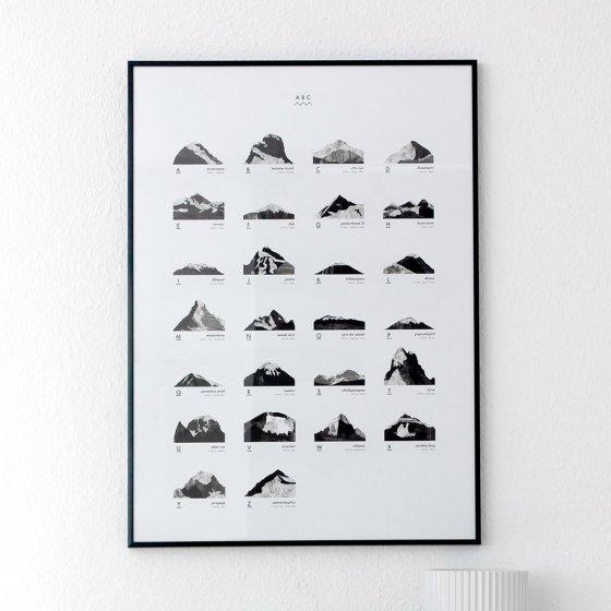 Affiche Mountain ABC