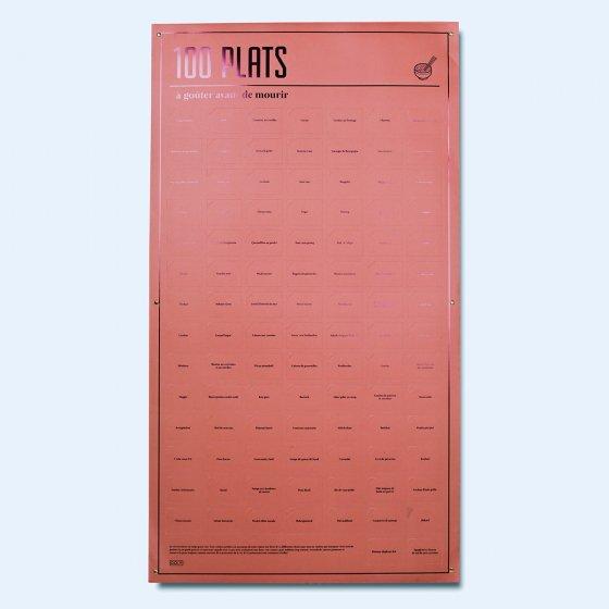 Affiche 100 cases à ouvrir avant de mourir