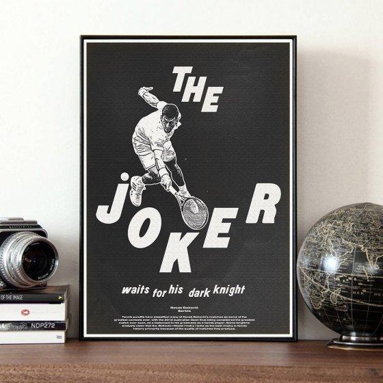 Affiche d'art Djokovic