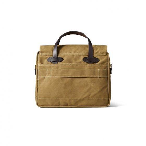 Briefcase Filson en toile cirée
