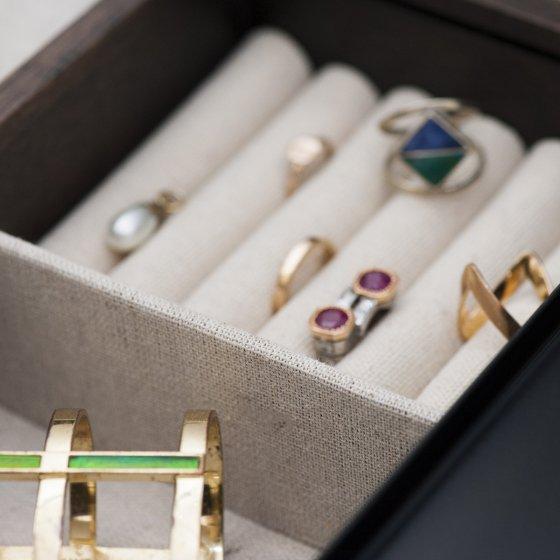 grande collection vente en ligne profiter du meilleur prix Coffret à bijoux en noyer