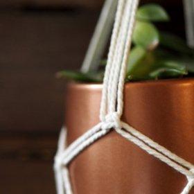 Créer son jardin suspendu en macramé