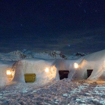 Une soirée à deux dans un igloo