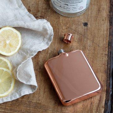 Flasque en cuivre