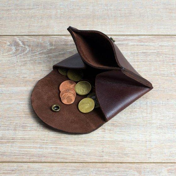 Porte-monnaie bleu de chauffe - Les Raffineurs
