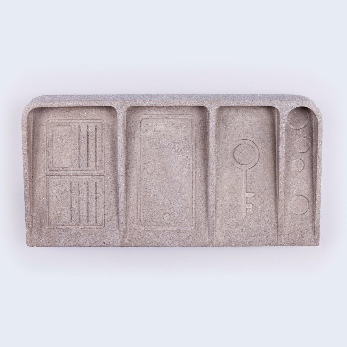 Vide-poche en béton de la maison Doiy