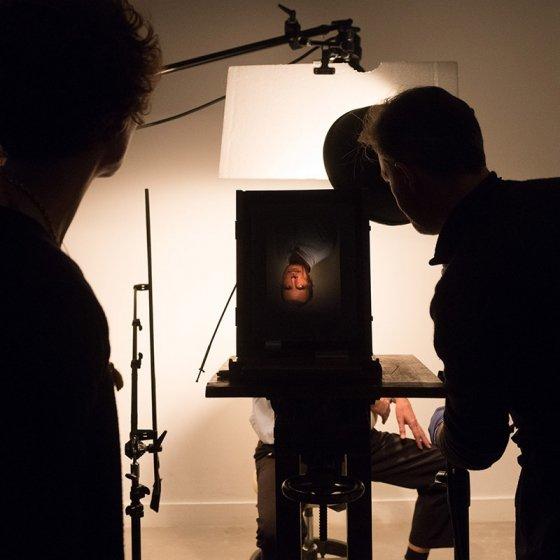 Votre portrait dans un studio du XIXème siècle