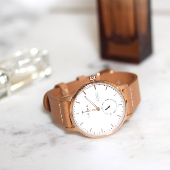 Montre Rose Triwa Tan