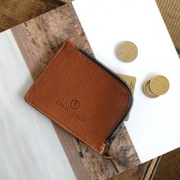 Porte-monnaie zippé