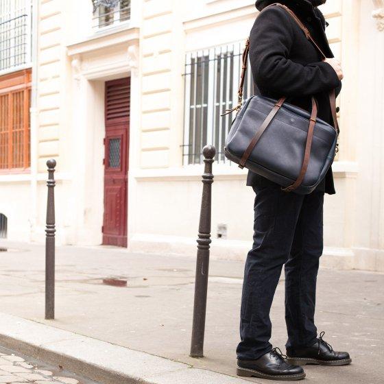 Sac Reporter Bleu de Chauffe