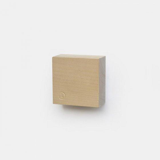 Cube en bois magnétique