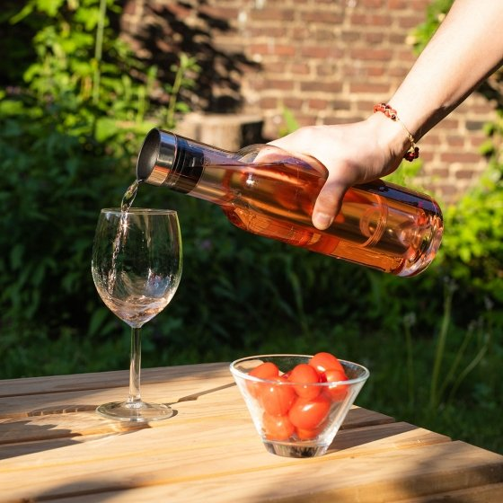 Carafe à vin rafraîchissante