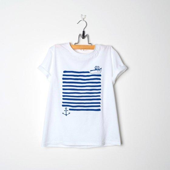 T-Shirts marins by Liga